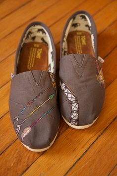 Aztec Arrows Custom TOMS Shoes - Limited Edition.