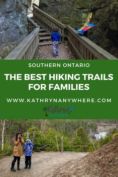 The best hiking for families in Southern Ontario, from Algonquin Provincial Park to Halton Conservation Areas to the Bruce Peninsula, know where to find the best hiking trails in Southern Ontario for families Cool Places To Visit, Places To Travel, Ontario Travel, Ontario Camping, Canadian Travel, Canadian Rockies, Ontario Parks, Hiking With Kids, Visit Canada