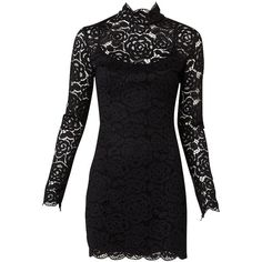 Structured Lace Dress