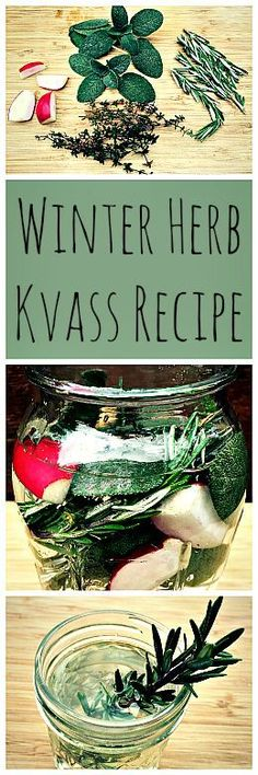 A fermented probiotic drink with a wonderful woodsy flavor. Perfect for winter!: