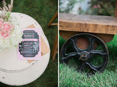 A Pretty Backyard BaBy-Q Baby Shower | The Little Umbrella
