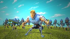 Thanks to the wonderful team at Perblue who gave us the opportunity to bring their great characters to life in this fun Titan Empire's Epic Battle Video Game… 3d Character Animation, Video Game Trailer, Cg Art, Feature Film, Animated Gif, Behind The Scenes, Empire, Studio, Games