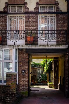 Secret Garden in London, England