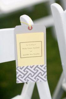 Wedding Program - Ritz-Carlton Half Moon Bay Wedding by Larissa Cleveland Photography Wedding Ceremony Backdrop, Ceremony Programs, Wedding Programs, Wedding Ceremonies, Wedding Stationary, Wedding Paper, Diy Wedding, Wedding Day, Wedding Stuff