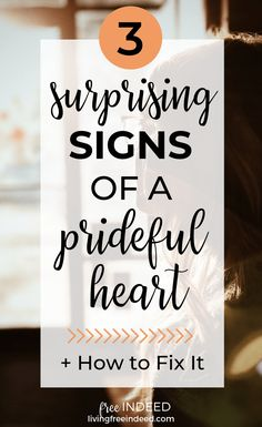 3 Surprising Signs of a Prideful Heart - Free Indeed Bible Study Lessons, Bible Study Tools, Leadership Quotes, Education Quotes, Verses About Pride, Educational Leadership, Educational Technology, Free Indeed, Girls Bible