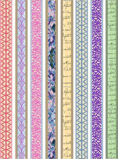 Paper Bead Designer Kit Vintage Pastel par PaperCottagePrinties