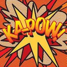 Comic Book KA-POW! by theimagezone