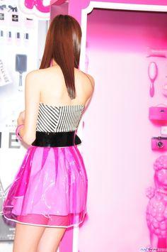 拡大画像 017l | 新川優愛、バービー風衣装で美脚披露「大胆にピンクにしてみました!」 | マイナビニュース Korean Beauty Girls, Bikini Models, Japanese Fashion, Fashion Models, Pink, Actresses, Bikinis, Womens Fashion, Image