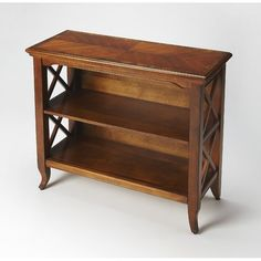 Small Bookcase, Cube Bookcase, Etagere Bookcase, Bookcases, Short Bookshelf, Rustic Bookshelf, Honey Brown, Wood Shelves, Furniture Deals