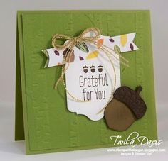 Stamp A Little Longer: Stampin' Addicts Fall Holiday Blog Hop