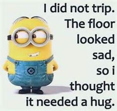 Thank God I still have my sense of humor :) Minion Meme, Minions Quotes, Really Funny Memes, The Funny, Need A Hug, Disney Memes, Laugh Out Loud, Make Me Smile, Funny Animals