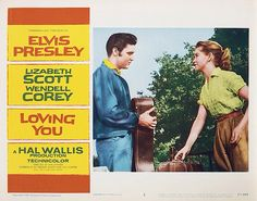 Lobby Card from the Elvis Presley film Loving You