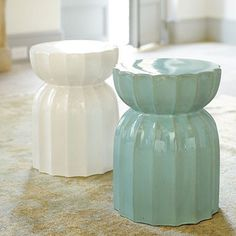Elise garden seat - can be used for shower stool... from ballard designs