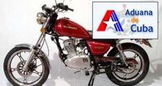 Aduana de Cuba: Información sobre importación de ciclomotores