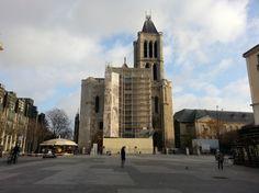 Basilique de Saint-Denis - fachada
