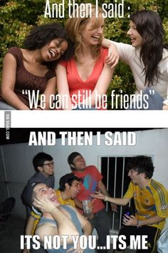 15 Funny Break Up Memes - Page 3 of 16 Manado, Breakup Humor, Boys Vs Girls, Girls Fun, Rather Be Alone, Funny Memes, Hilarious, Jokes, If You Love Someone