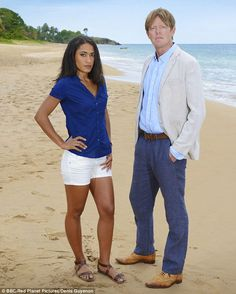 Departure: French actress Joséphine Jobert, who plays feisty police officer Florence Cassell on Death in Paradise,
