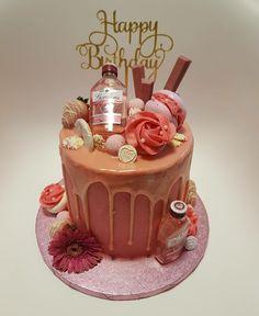 Jack Daniels Cake, Custom Birthday Cakes, Chocolate Fondue, 18th, Sweets, Desserts, Pink, Food, Ideas