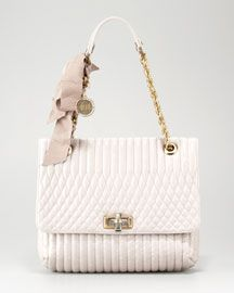 Lanvin Happy Crinkled Shoulder Bag