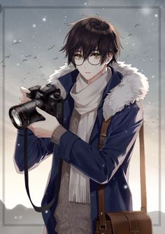 (Older Hiro? O.o) Hiro: *taking pictures* Oh, what are you doing out here...?