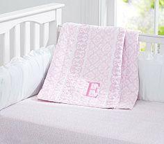 Baby Girl Nursery Bedding, Crib Bedding for Girls   Pottery Barn Kids