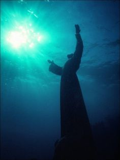 Christ of the Abyss, Key Largo  I went to see this in 2012. It was mesmerizing. I would highly recommend a visit if you get a chance!