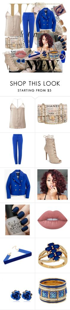 """""""The Chanel way"""" by ejollia on Polyvore featuring Miss Selfridge, Chanel, Boutique Moschino, Chinese Laundry, J.Crew, OPI, Lime Crime, Lord & Taylor and Rosendahl"""