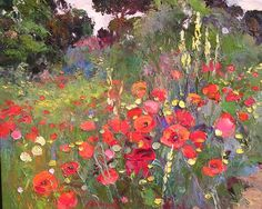 Ramon Vilanova. Lavish Landscapes ~ Blog of an Art Admirer