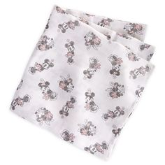Minnie Mouse Swaddling Blanket for Baby | Bedding | Disney Store