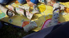 il blog di Alis: riciclare i rotoli della carta igienica... costruendo serpentelli!!