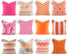 This listing is for 1 pillow cover to fit a 16 x 12 pillow insert or you can get it with the pillow insert. Make your selection before you add to