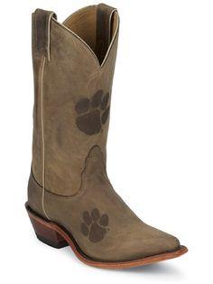 Clemson boots!