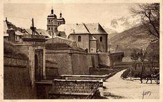 Briançon début 1900 - #oldpics #serrechevalier