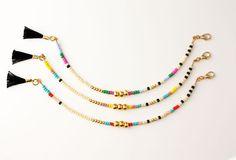 Friendship Bracelet Three Gold Beads Bracelet door feltlikepaper
