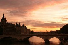 One of the many Paris bridges