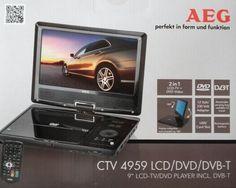 AEG CTV 4959 9″ Akku Zoll LCD-Monitor TV DVD-Player Car Cinema DVB-T NEU; EEK Asparen25.com , sparen25.de , sparen25.info