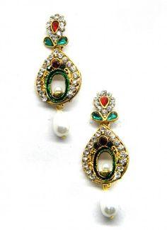 Ravishing Multi Colored Earring Set