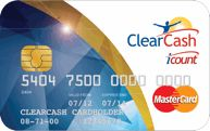 Clearcash card