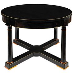 A Biedermeier Center Hall Table   From a unique collection of antique and modern center tables at http://www.1stdibs.com/furniture/tables/center-tables/