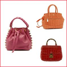 chloe bag online shop - Salar Mimi pink - Small fashionable handbag with gold lock and ...