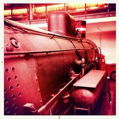 Railroad Museum in Odense, Denmark