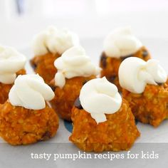 It's squash season…and that means pumpkin reigns supreme! We love pumpkin because it's a healthy ingredient that plays well with kid-friendly recipes. And we love these fall and Thanksgiving pumpkin recipes for kids because they take advantage of the season's favorite ingredient, with easy steps kids can help with.