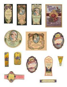 Imprimibles etiquetas vintage - Carla Anahi - Picasa Web Albums