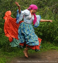 * Romani Gypsy dance in photos. Gypsy dance by Olga Azarova *