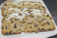 Christstollen nach Oma Martha Stollen to Grandma Martha of Healthy Holiday Recipes, Healthy Dessert Recipes, Appetizer Recipes, Italian Cookie Recipes, Italian Desserts, Holiday Appetizers, Christmas Desserts, Dessert Halloween, Recipes
