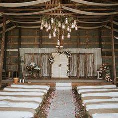 A beautiful #ceremony location from today's #realwedding on RusticWeddingChic.com #onrwc