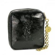 Black Belle de Jour Wristlet | Queen Bee of Beverly Hills - YSL Evening www.queenbeeofbeverlyhills.com $495.00