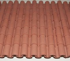 how to: miniature Spanish roof tiles Foam Carving, Diy Nativity, Ceiling Treatments, Roof Styles, Fairy Doors, Small Furniture, Barbie House, Home Design Plans, Fairy Houses
