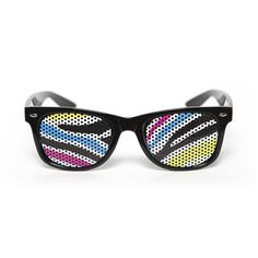 Zebra Colors Glasses now featured on Fab.