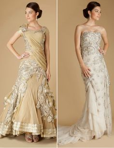 absolutely gorgeous by Indian wedding designers on CoutureRani.com.